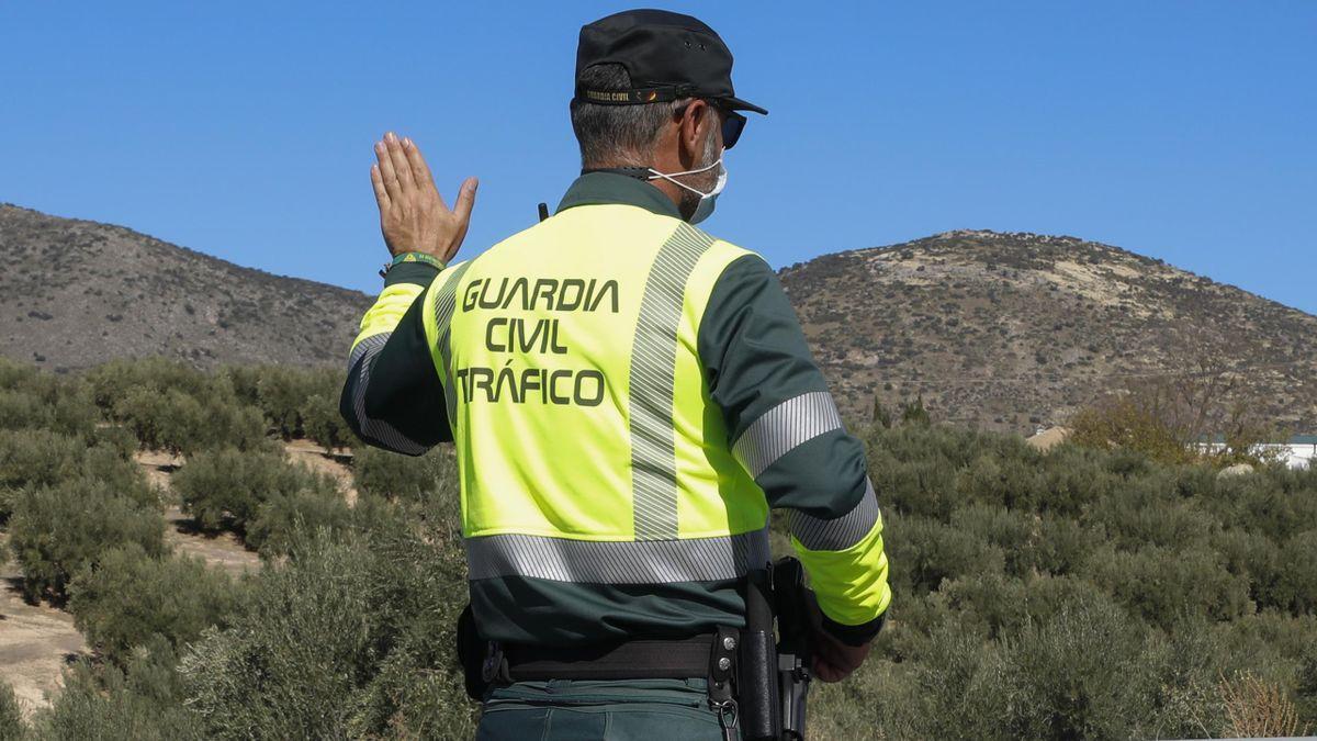 A member of Spain's civil guard