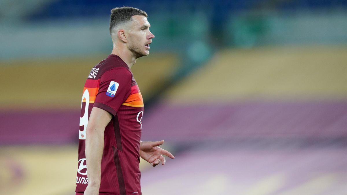 Edin Dzeko, Roma 2020-2021 (Getty Images)