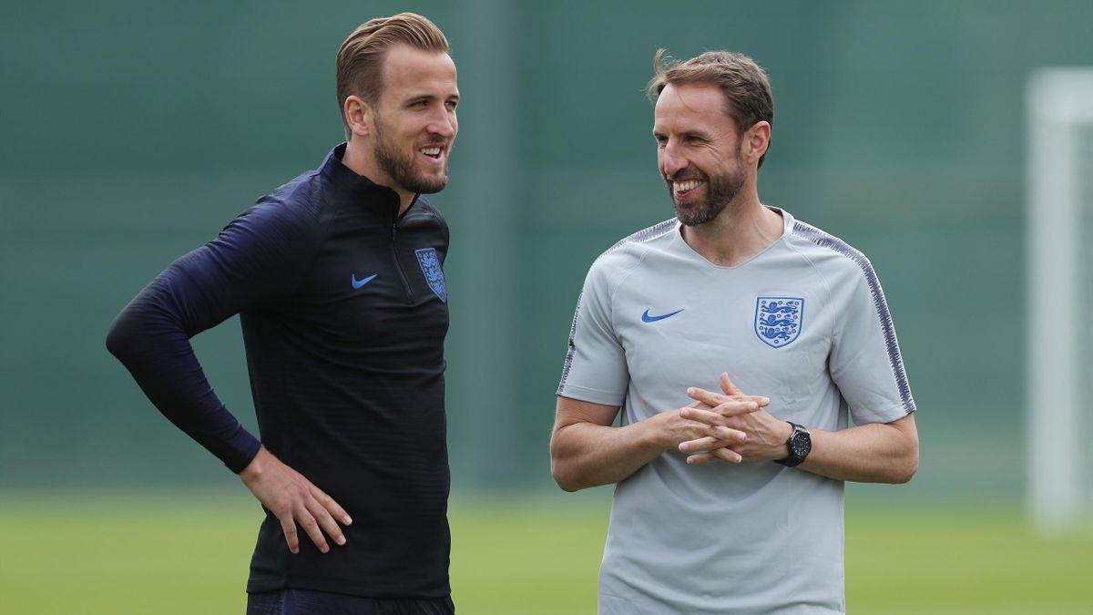 Harry Kane et Gareth Southgate
