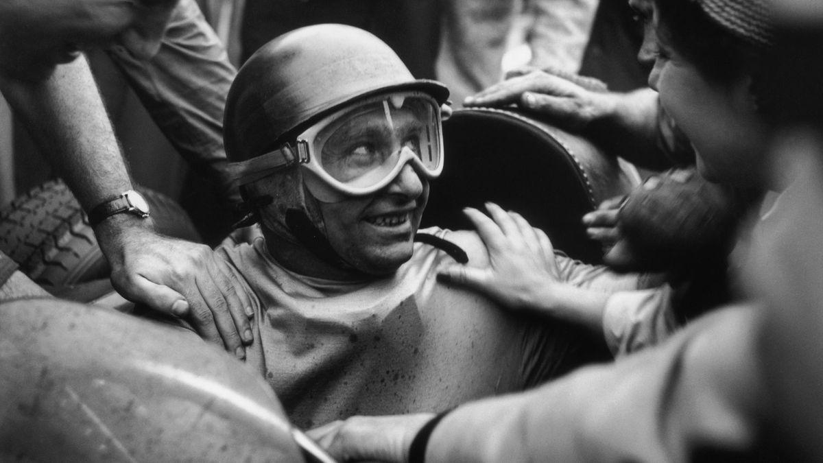 Juan Manuel Fangio, fostul mare pilot din Formula 1
