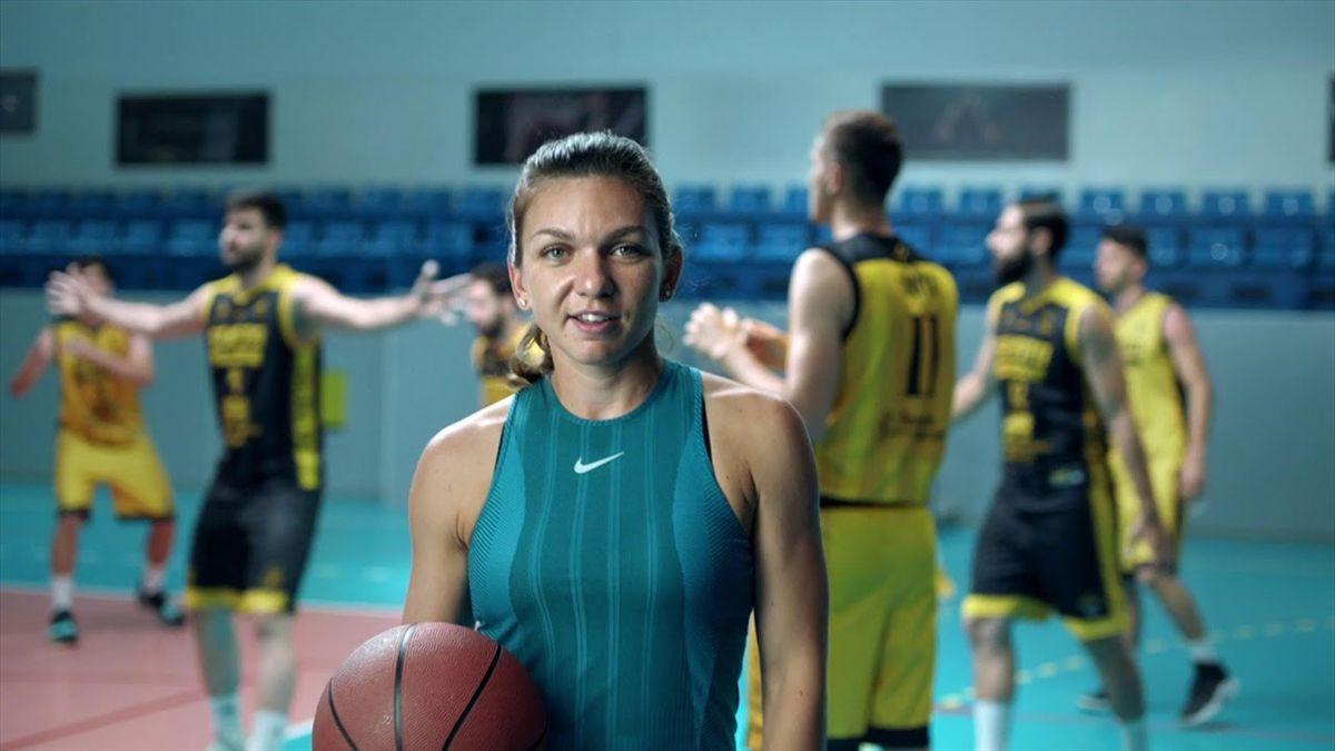 O echipă de baschet, denumită după Simona Halep