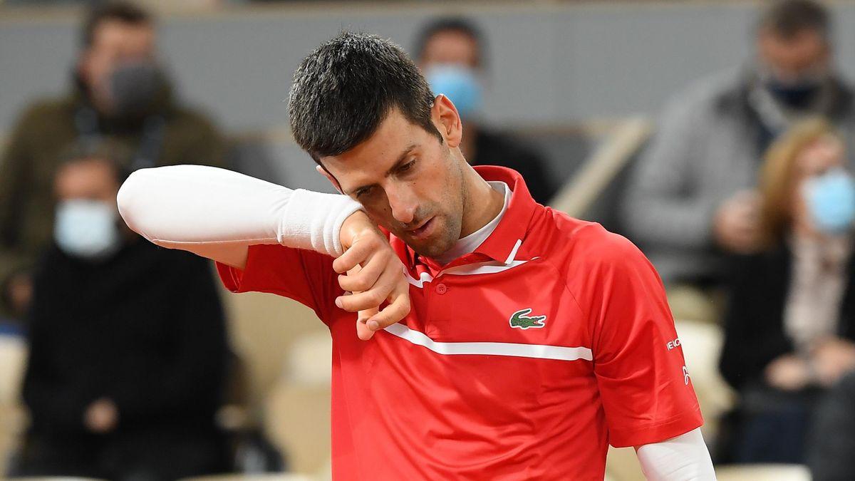 Novak Djokovic à Roland-Garros en 2020