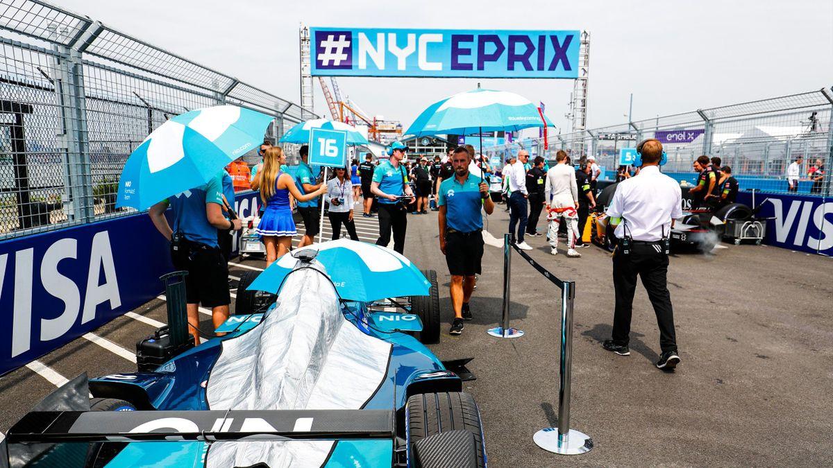Ma Qinghua, NIO Formula E Team. on July 14, 2018 in New York, United States