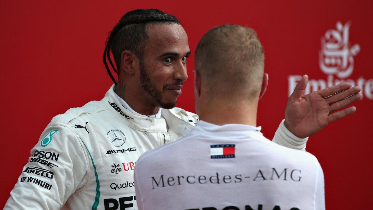 Lewis Hamilton, Valtteri Bottas (Mercedes) - GP of Hungary 2018