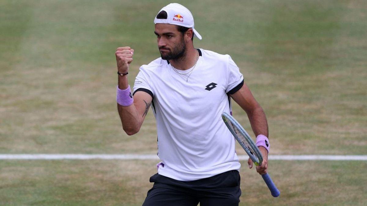 Tennis - ATP Queen's, Matteo Berrettini incanta Londra: battuto De Minaur, prima finale 500 in carriera - Eurosport