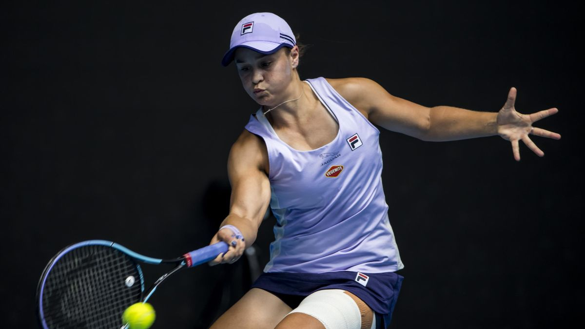 Ashleigh Barty of Australia