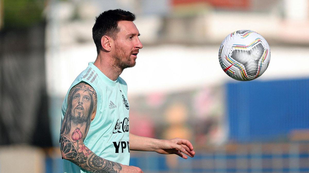 Лионель Месси, Аргентина, Кубок Америки 2021