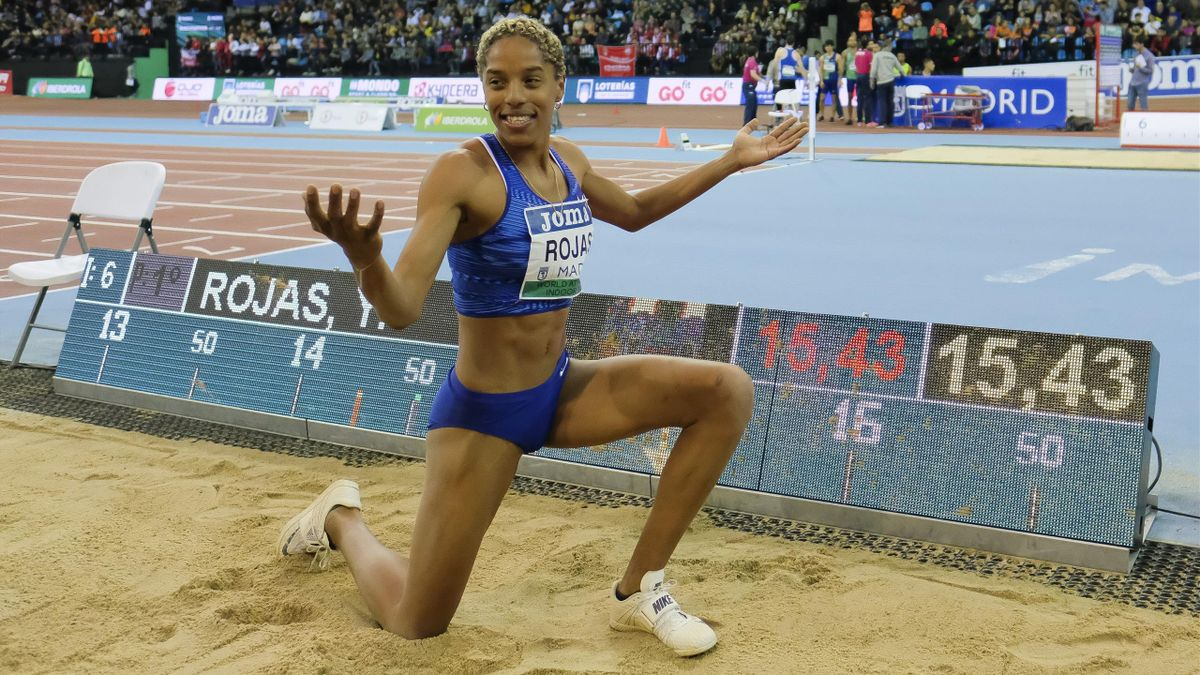 Yulimar Rojas sprang in Andújar auf 15,43m