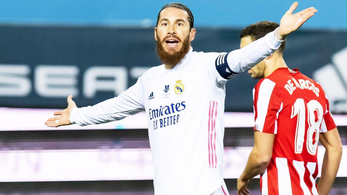 Sergio Ramos gibt bei Real Madrid die Kommandos