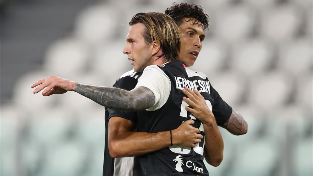 Cristiano Ronaldo e Federico Bernardeschi - Juventus-Sampdoria Serie A 2019-20