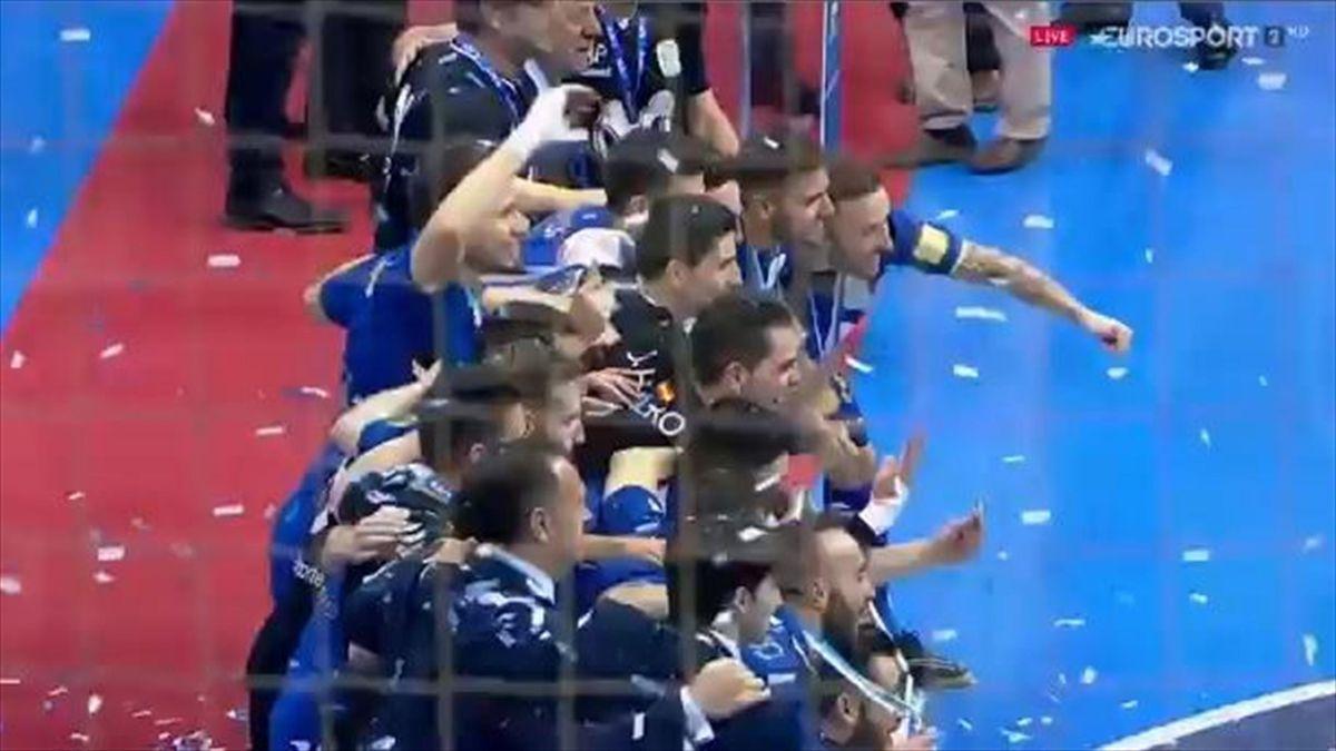Inter Movistar, campeón de la Copa de España de fútbol sala