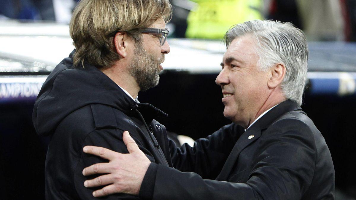 Jürgen Klopp, Carlo Ancelotti