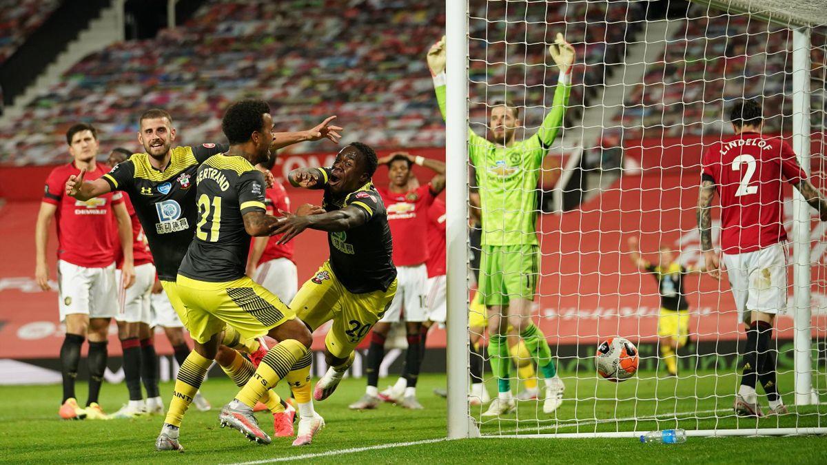 Manchester United gegen den FC Southampton