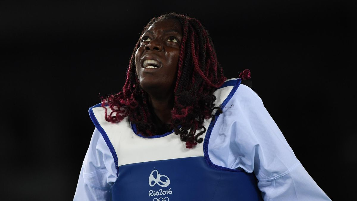 Gwladys Epangue - JO Rio 2016