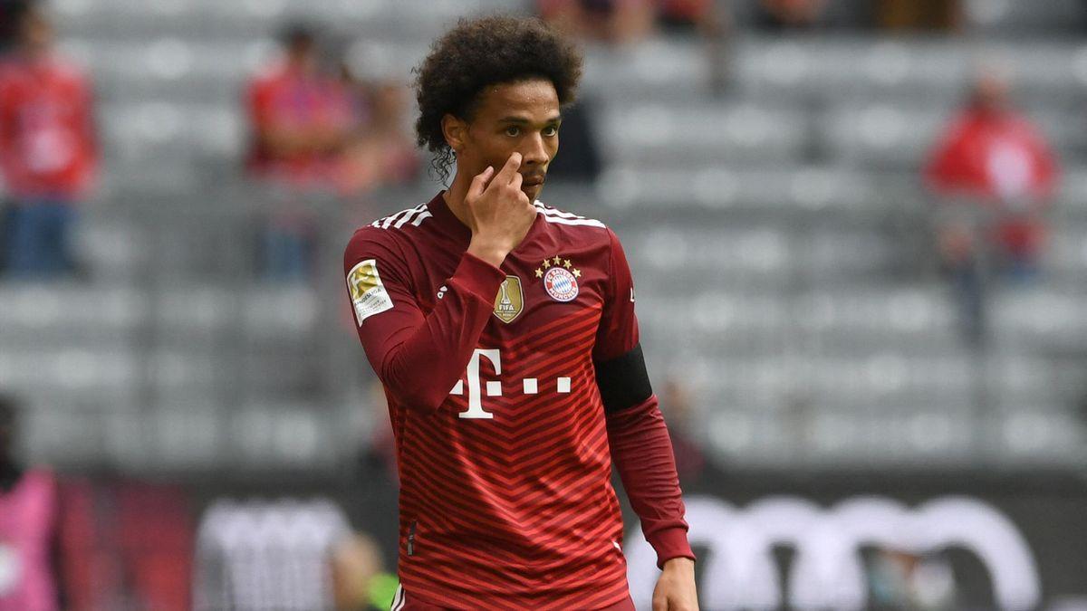 Leroy Sané vom FC Bayern ist noch nicht in Top-Form