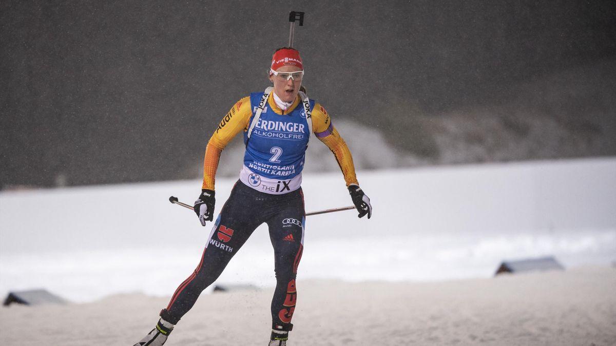 Denise Herrmann in Kontiolahti