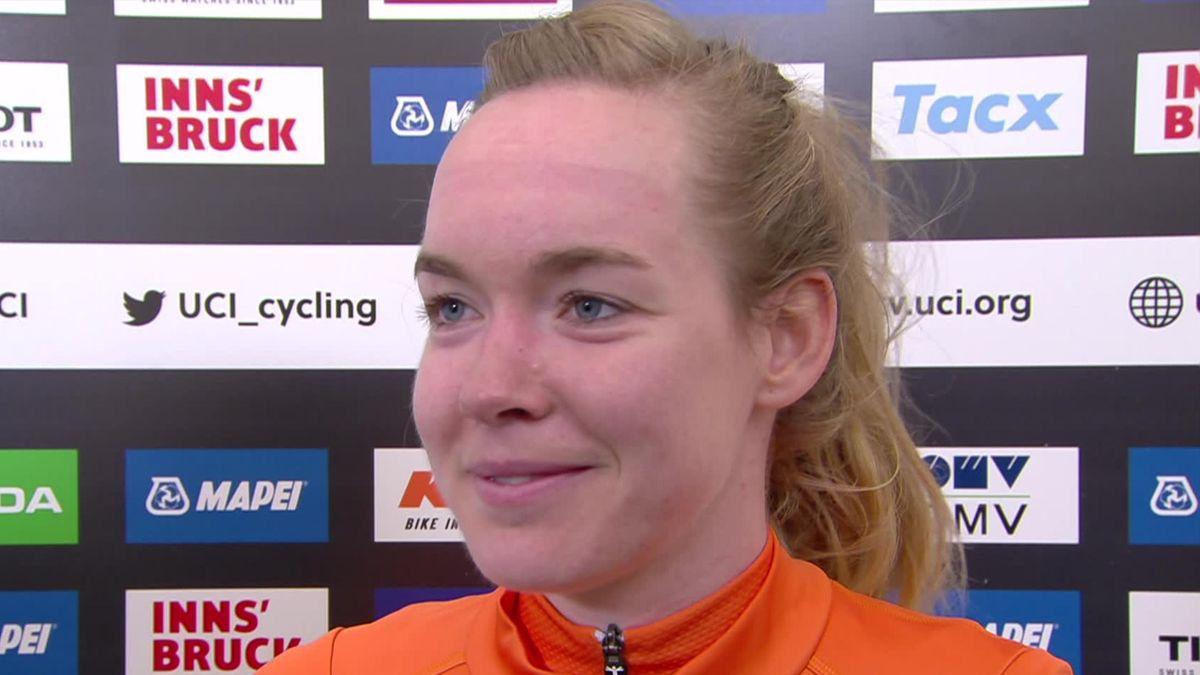 UCI World Championship - Austria - Women Elite Road Race - Interview Anna Van der Beggen