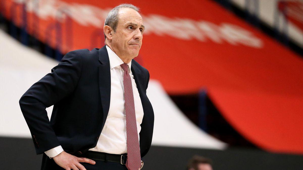 Coach Ettore Messina, AX Armani Exchange Milano, 2020-21