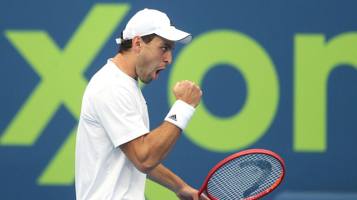 Aslan Karastev lors du tournoi de Doha.