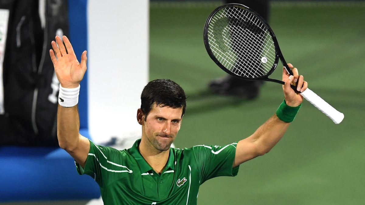 Novak Djokovic (Dubaï 2020)