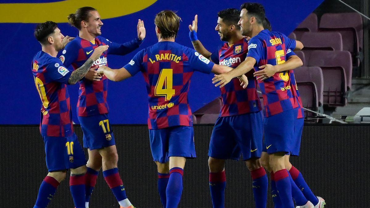 FC Barcelona a anunțat că un jucător a fost depistat pozitiv cu coronavirus