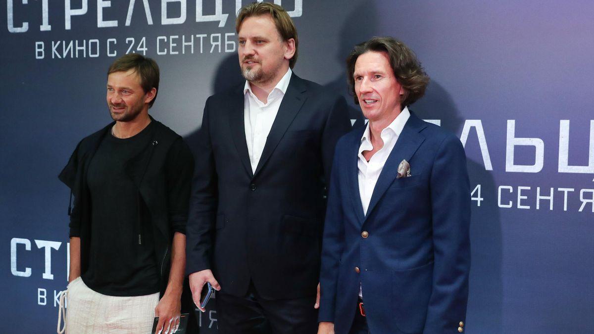 Дмитрий Сычев, Дмитрий Булыкин и Алексей Смертин