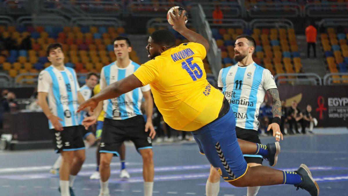 Gauthier Mvumbi, World Men's Handball Championship