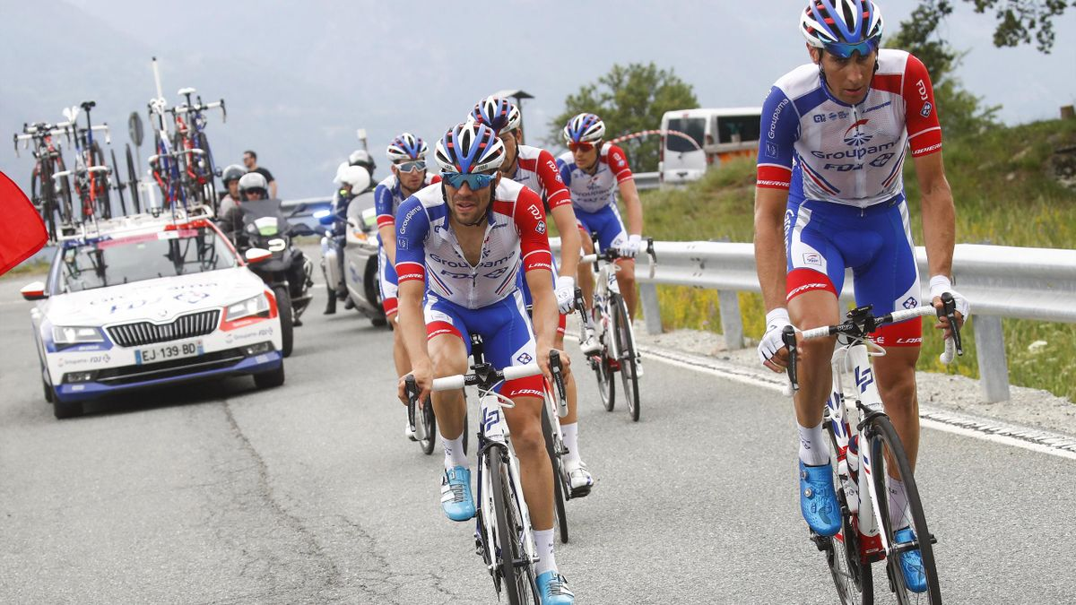 Thibaut Pinot lors de la 20e étape du Giro