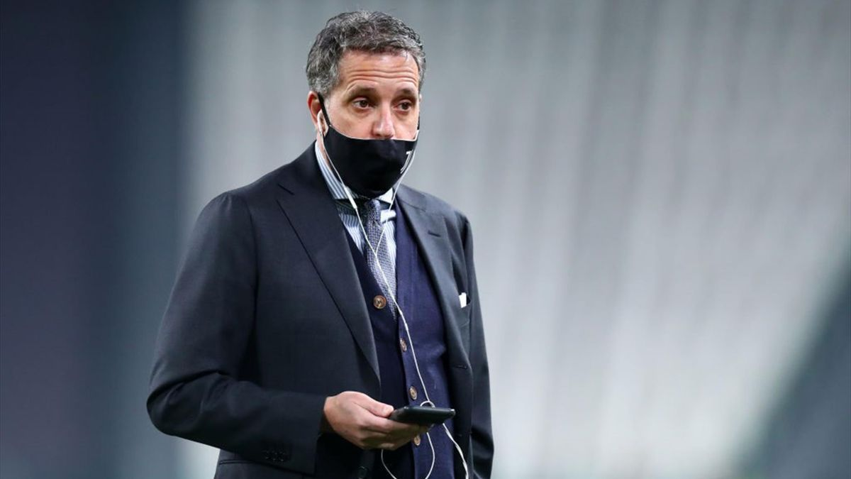 Fabio Paratici prima di Torino-Juventus - Serie A 2020/2021 - Getty Images