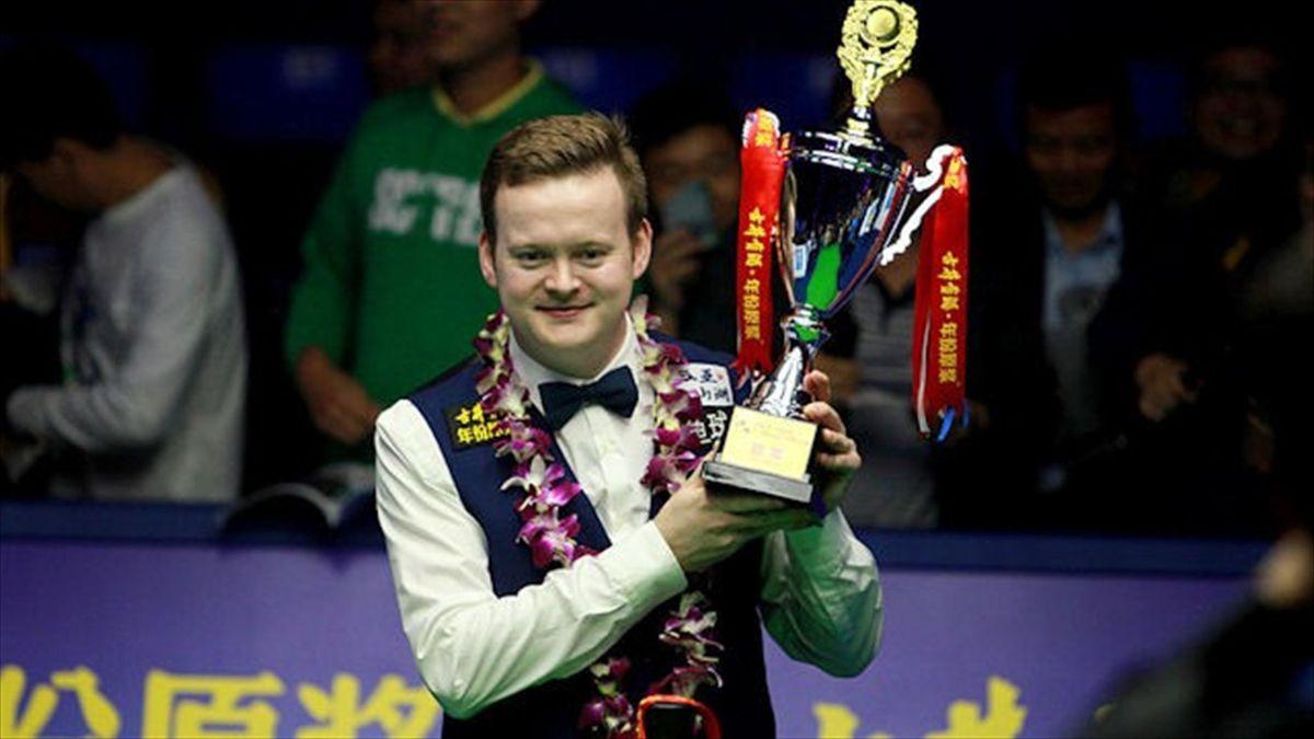 Shaun Murphy wins the 2014 Haikou World Open (Tai Chenghze)