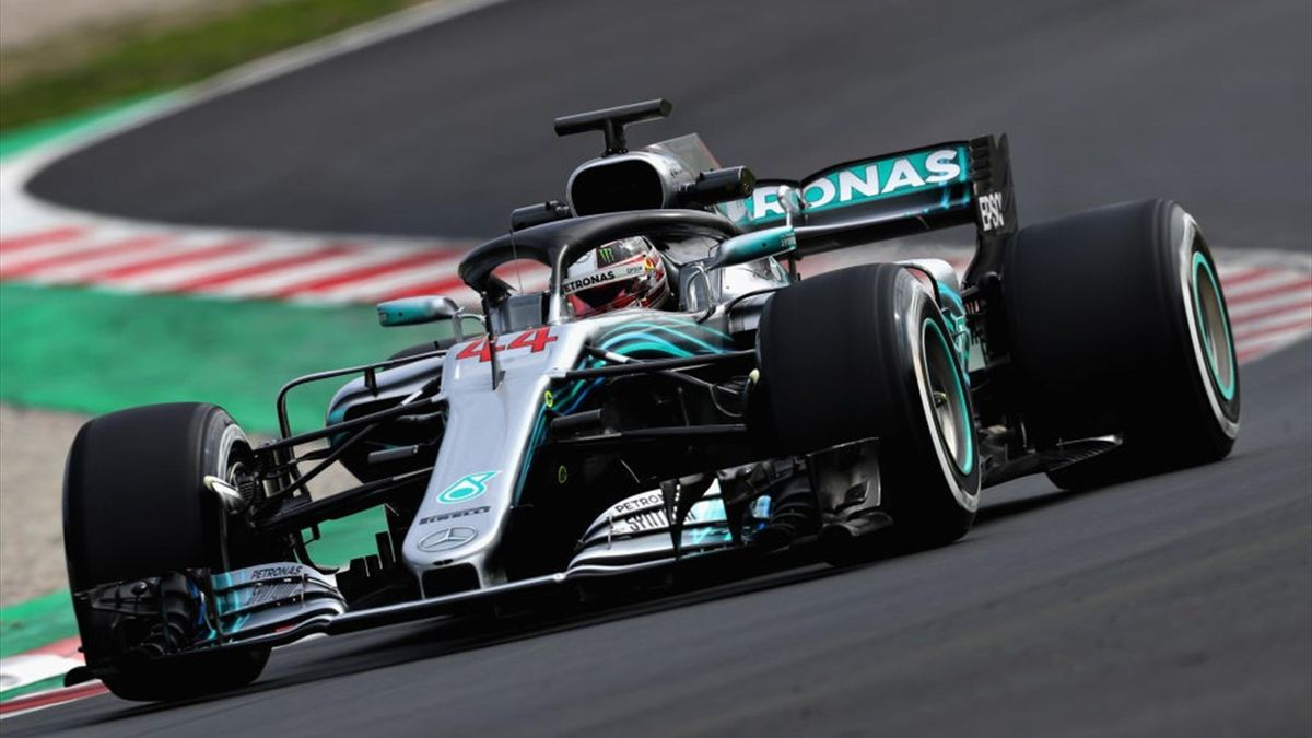 Lewis Hamilton, Mercedes - F1 Winter Testing at Circuit de Catalunya - Day 5 2018 - Getty Images