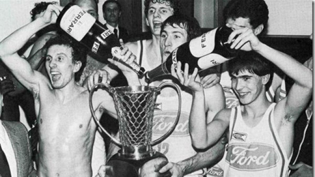 Ford Cantù, la vittoria in Coppa dei Campioni nel 1982-83