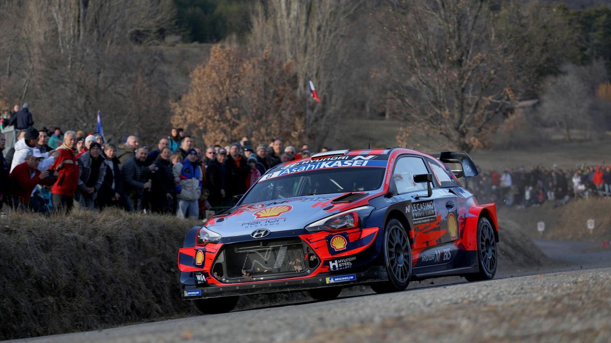 Ott Tanäk   Rallye Monte Carlo 2020