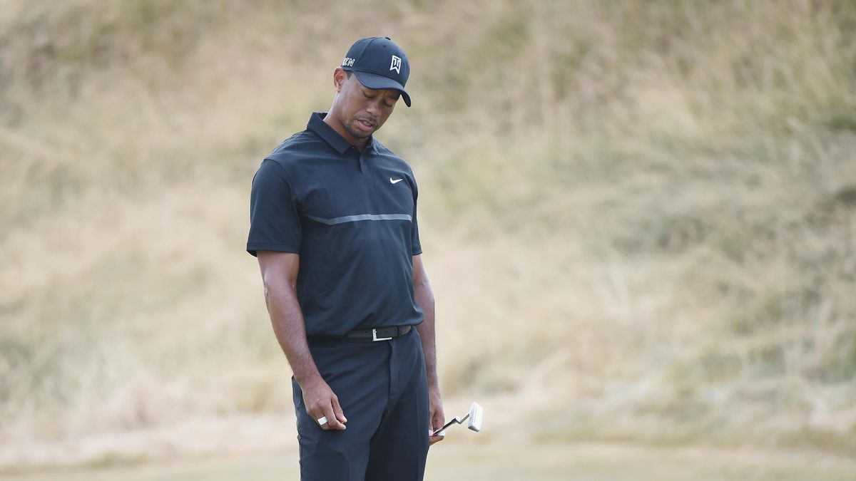 Tiger Woods, à l'US Open 2015