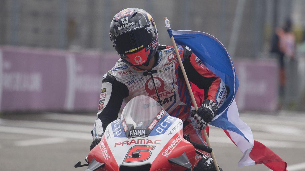 Johann Zarco (Ducati-Pramac) au Grand Prix de France, le 16 mai 2021