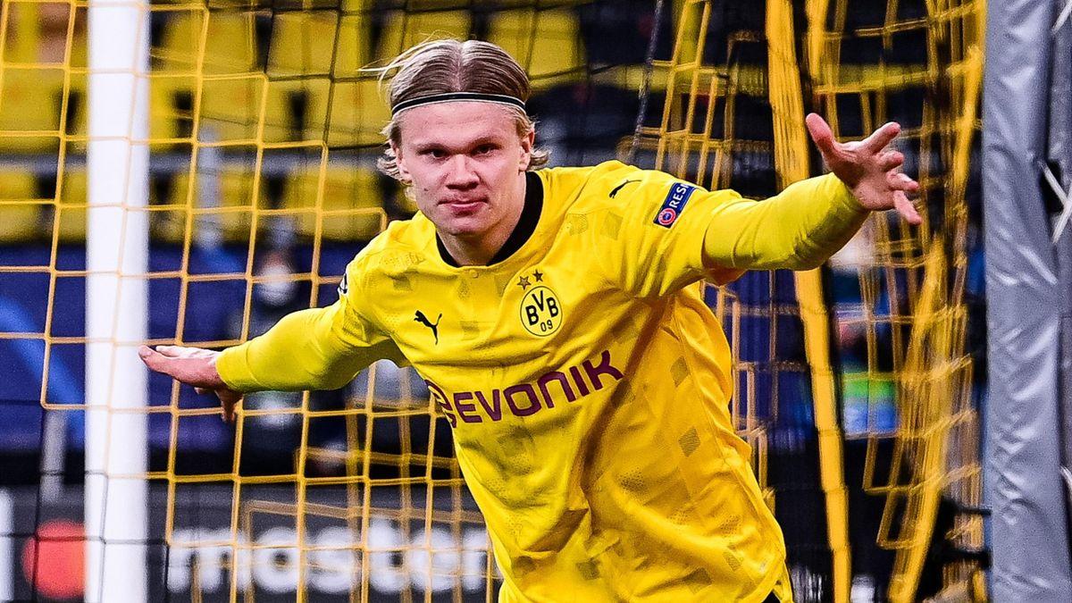 Erling Haaland spielt seit Januar 2020 beim BVB