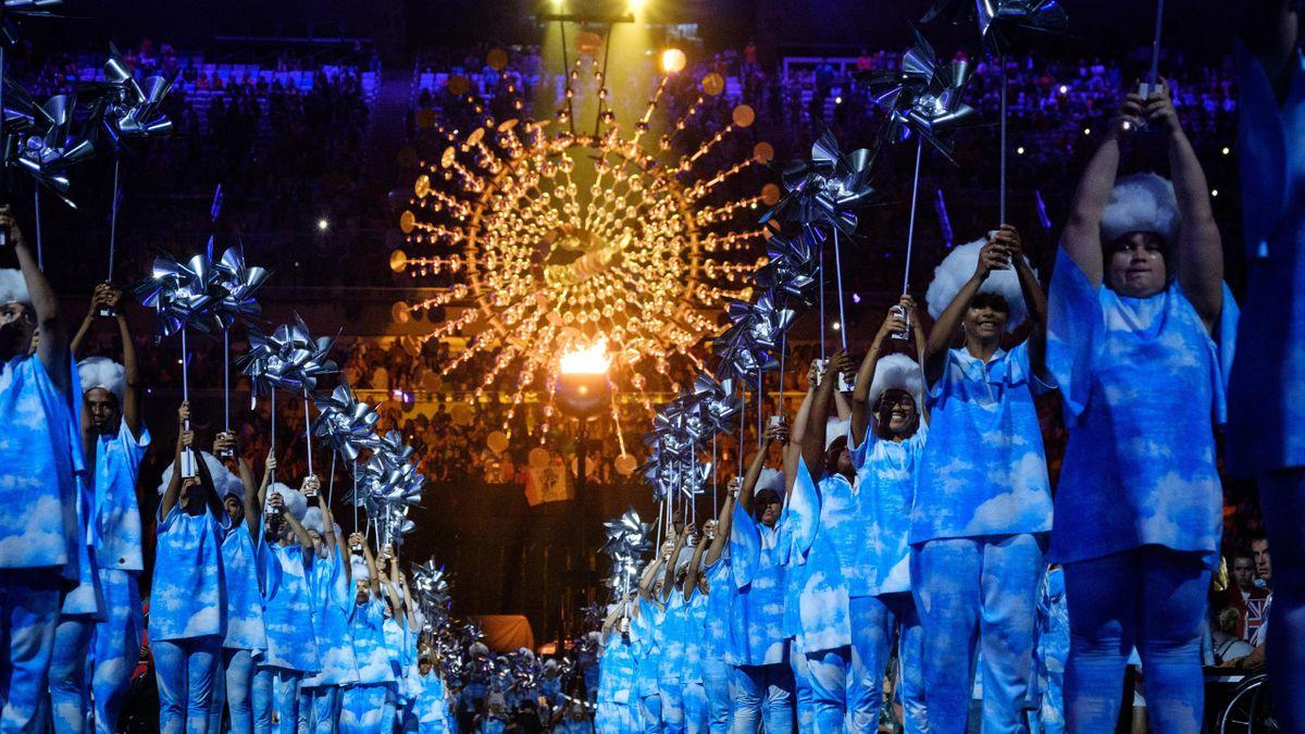La cérémonie de clôture des Jeux Paralympiques