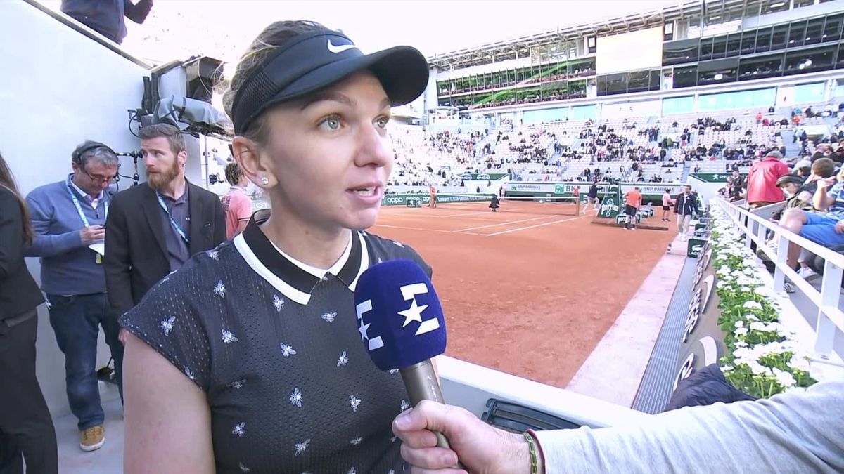 Rolland-Garros - Interview Simona Halep