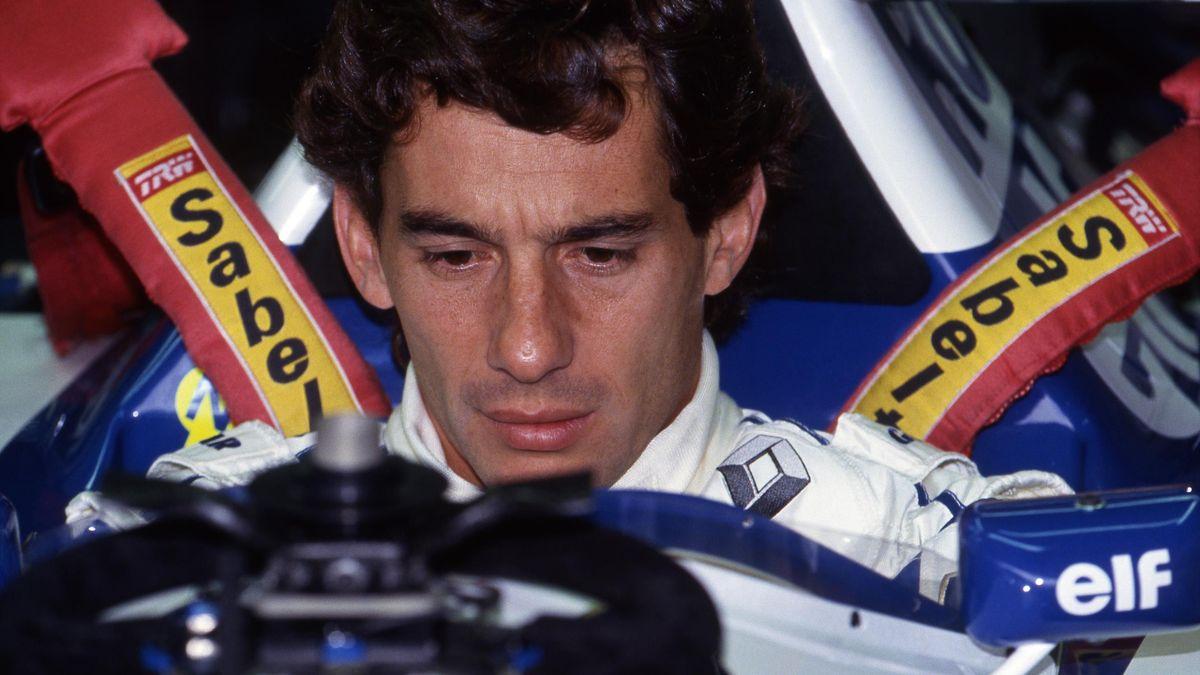 Ayrton Senna 1994 in Imola im Williams