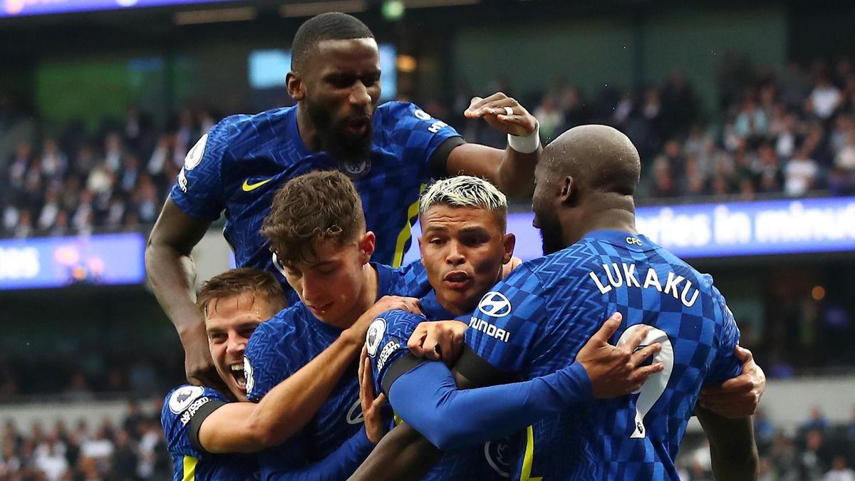 Der FC Chelsea schlägt Tottenham Hotspur