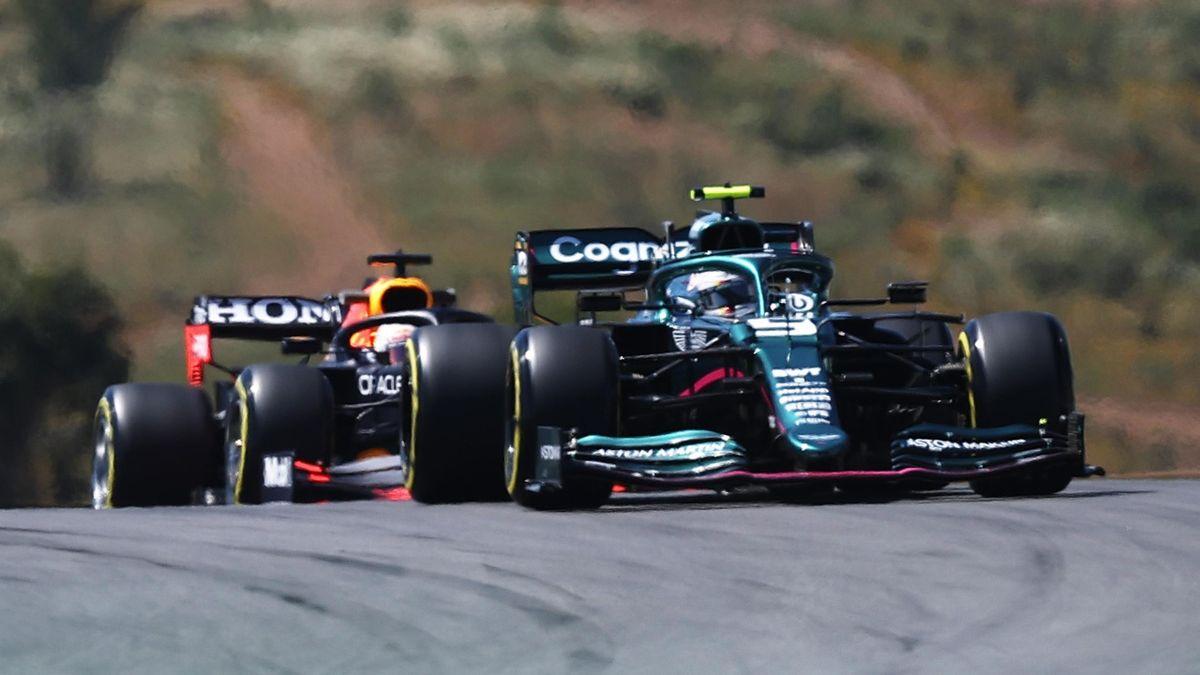 Sebastian Vettel, Max Verstappen - GP Portugal