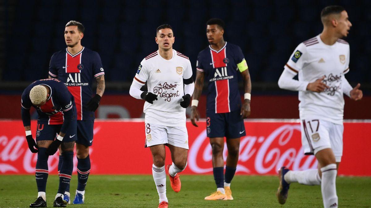 Hatem Ben Arfa avec Bordeaux contre Paris.