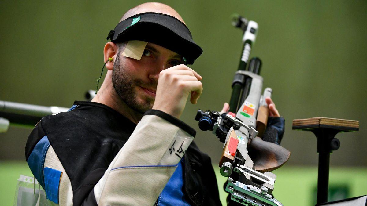 Niccolò Campriani Olimpiadi di Rio 2016 (Afp)
