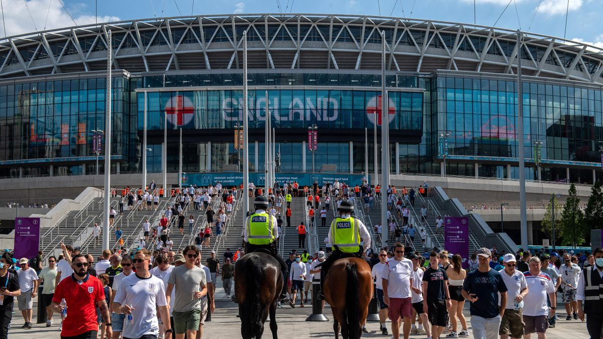 Wembley Stadium will welcome more than 60,000 fans for the Euro 2020 semi-finals and final