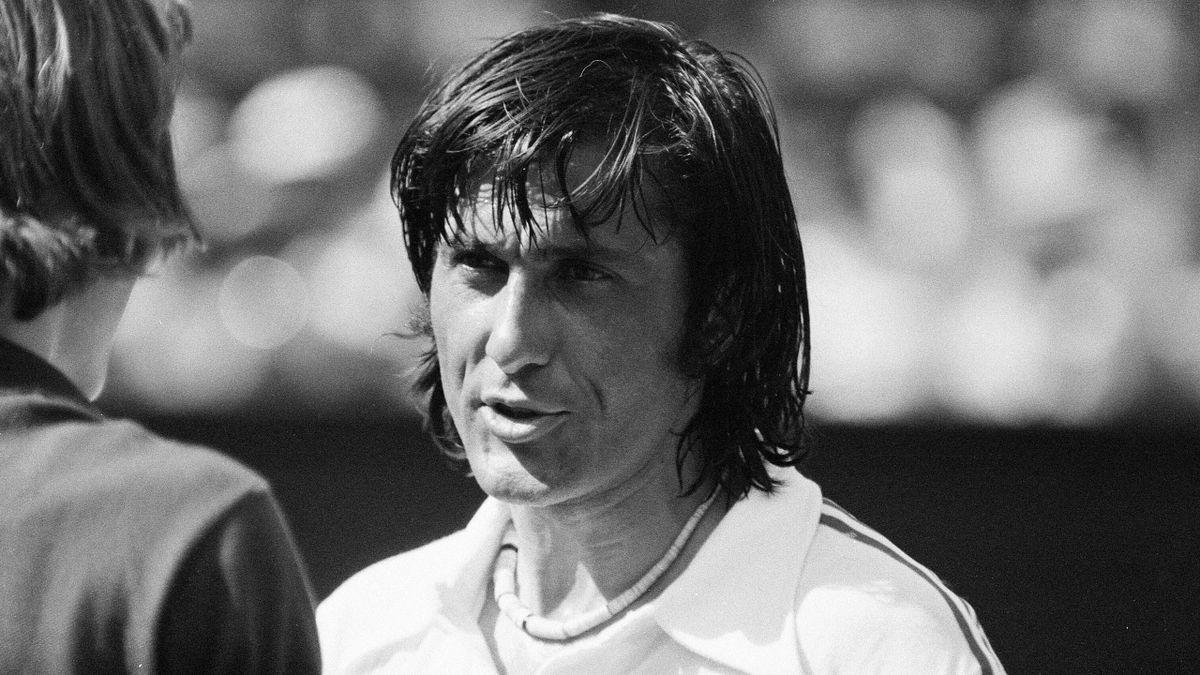 Ilie Nastase en 1975.