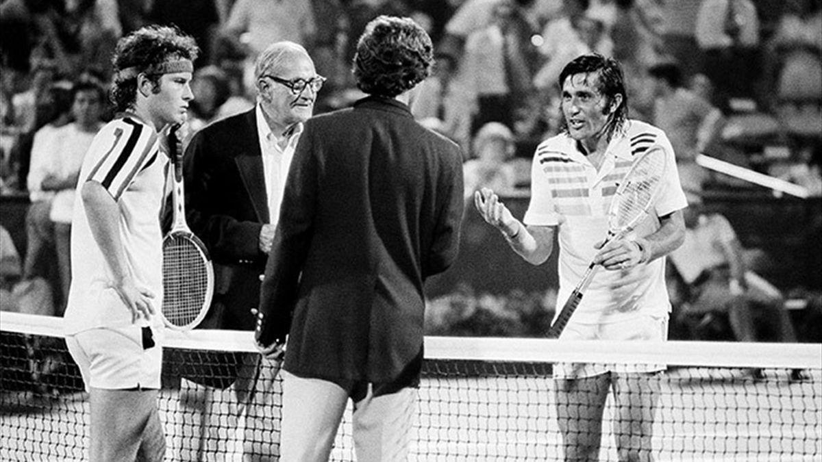 Nastase - McEnroe - US Open 1979