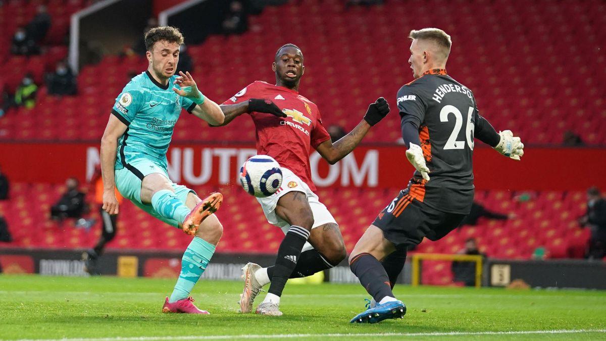 Manchester United gegen den FC Liverpool