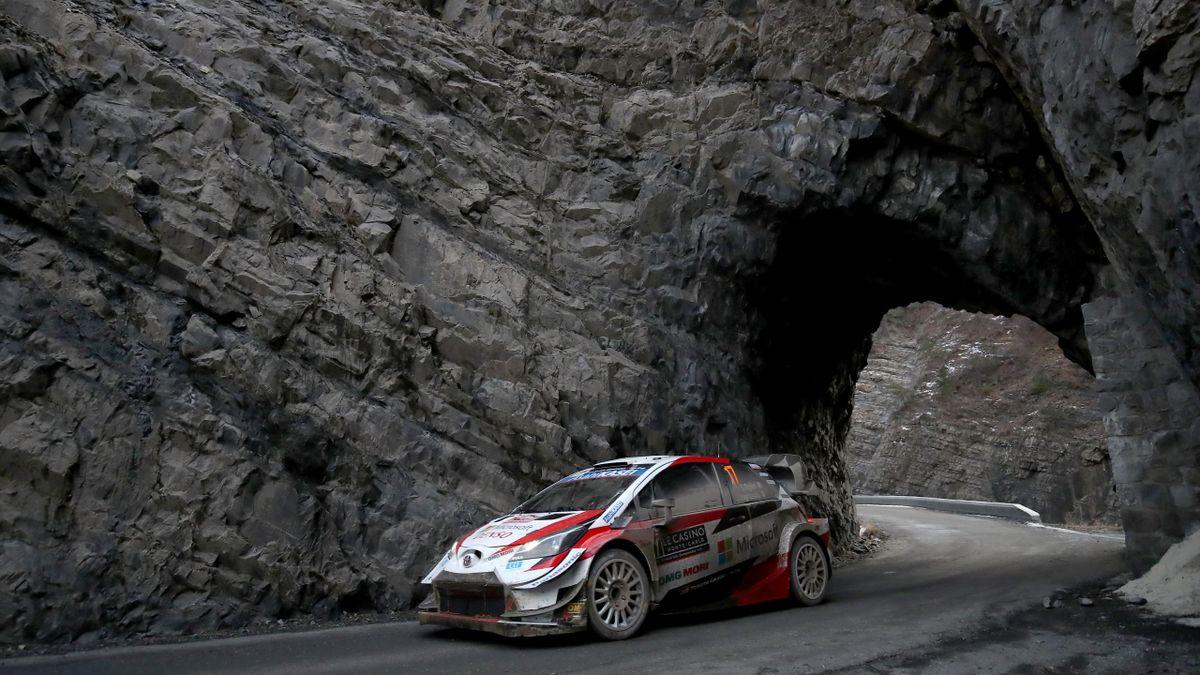 Sébastien Ogier (Toyota WRT) au Rallye Monte Carlo 2020