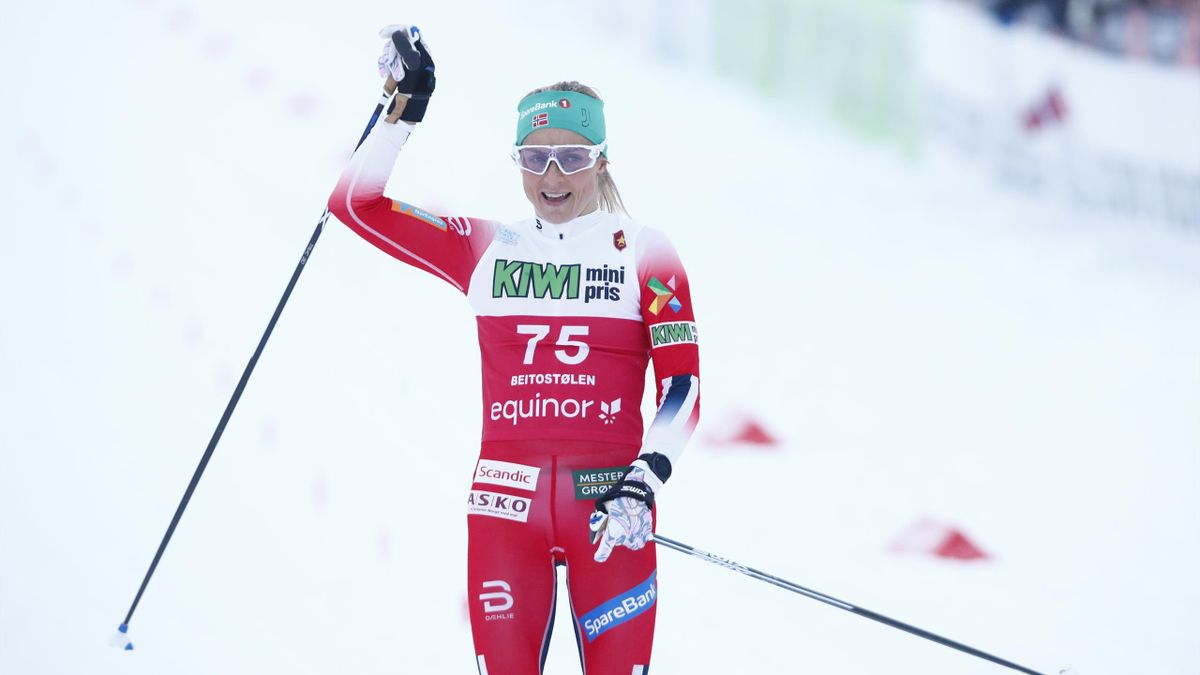 Skiing News Therese Johaug Win Extends Lead At The Top Eurosport