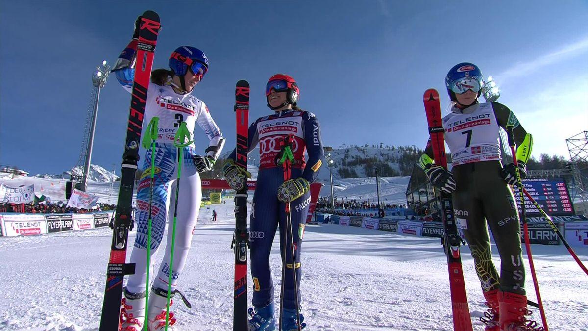 Sestriere , Giant Slalom Women - Run 2 - Brignone